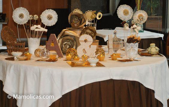 Decoracion Bodas De Oro ~ Decoraci?n bodas de oro