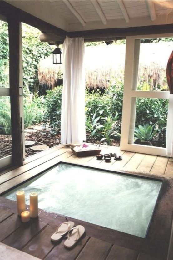 Indoor Hot Tubs Vs Outdoor Hot Tubs Comparison Hot Tub Outdoor Indoor Hot Tub Hot Tub Room
