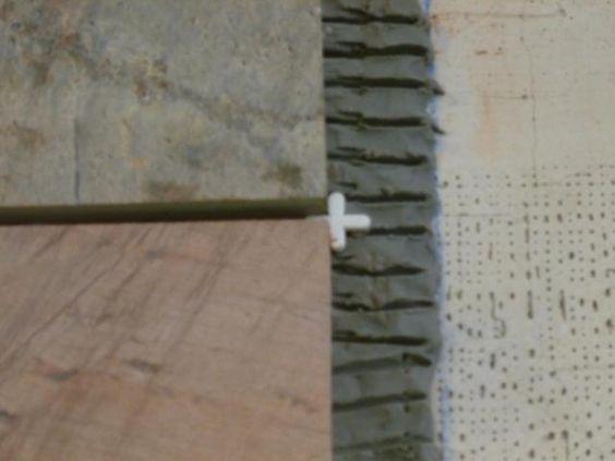 Installing Slate Floor Tiles: Tile Spacers