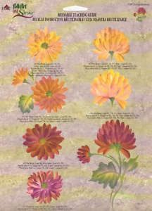 "donna dewberry rtg   Chrysanthemum"" One Stroke RTG 1149 Donna Dewberry   eBay"