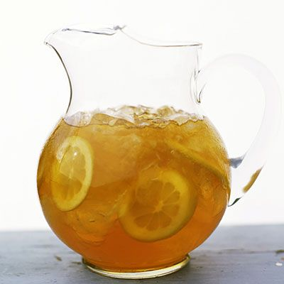 All day Fat-Flushing Cooler:  In a large pitcher, combine 2 quarts brewed green tea (8 cups) with slices of orange, lemon, and lime to give it a citrusy-sweet punch. Enjoy up to 1 pitcher a day. Serve over ice (or drink hot); refrigerate for up to 3 days. Tastes great