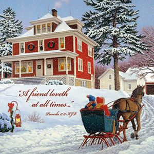 John Sloane Greeting Cards, Home Again