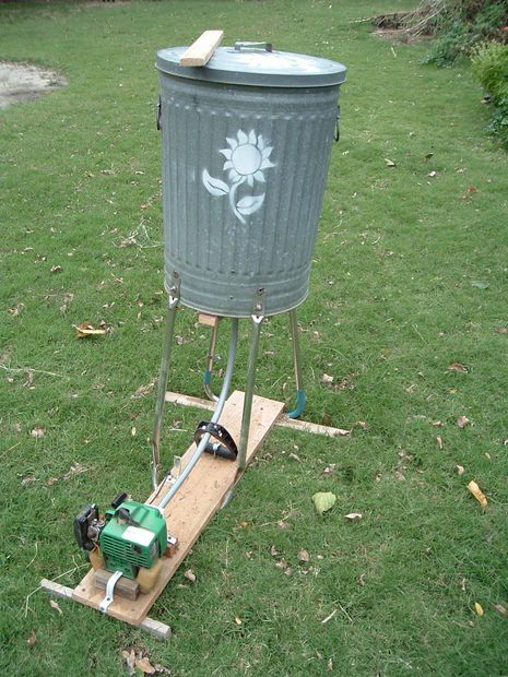 Small home scale threshing machines homestead forum at for Small scale homesteading