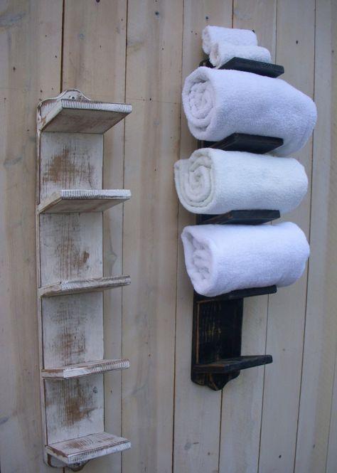 Handtuchhalter Aus Holz 40 Diy Ideen Designer Modelle Handtuchhalter Holz Diy Handtuchhalter Handtuchhalter Badezimmer