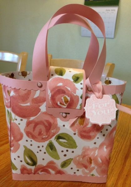English Garden Card Set and Matching Purse, love the closure