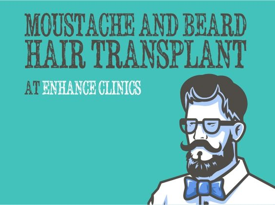 LACK OF FACIAL HAIR CAN NOW BE CORRECTED WITH MOUSTACHE AND BEARD HAIR TRANSPLANT  #EnahanceClincis #Face #facial #MoustacheAndBeard #hairtransplant #men #skinproblems #Alopecia #bald