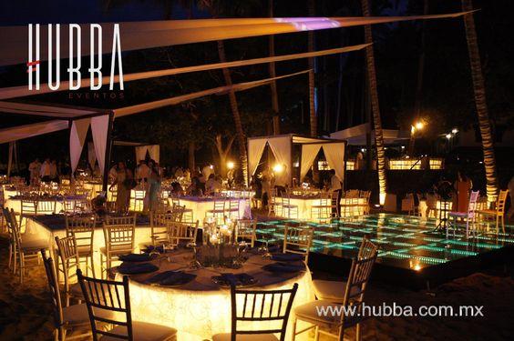 www.hubba.com.mx #video #iluminación #música #dancefloor #decoración #eventos