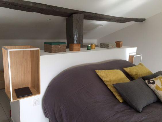 t te de lit diy avec des tag res ikea ps ps bricolage. Black Bedroom Furniture Sets. Home Design Ideas