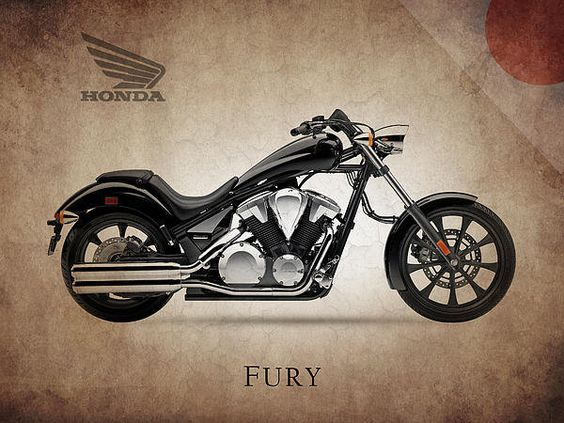Honda Fury Print By Mark Rogan