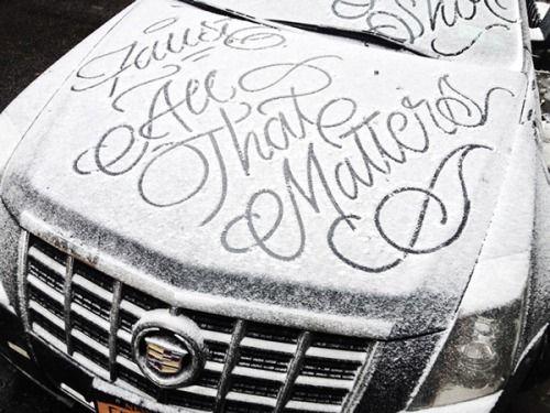 type-lover:Snow ScriptbyFaust New York