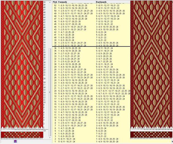 28 tarjetas, 4 / 3 colores, repite cada 36 movimientos // sed_447a diseñado en GTT༺❁