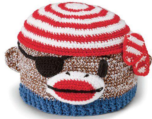 ... monkey hat monkey sock monkeys babies hats pirates sock monkey hat