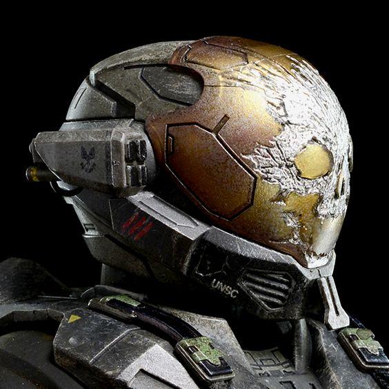 HALO Emile A-239 Spartan-III Helmet | Halo | Pinterest ...