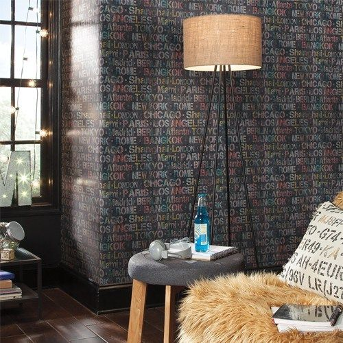 Cities Of The World Peel And Stick Wallpaper By York Lelands Wallpaper Peel And Stick Wallpaper Room Visualizer Roommate Decor