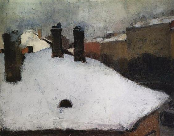 Igor Emmanuilovich Grabar (1871~1960) | Russian Post-Impressionism