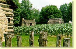 Historic Schoenbrunn Village - Ohio's first settlement