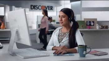 A woman calls to inquire about the FICO score on her monthly statement. She get's them free with her Discover Card -- awesomesauce!- iSpot.tv