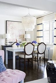 Luscious dining rooms - mylusciouslife.com - pretty