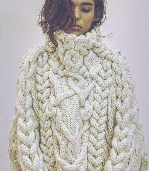 chunky knit - high neck turtleneck                                                                                                                                                      More