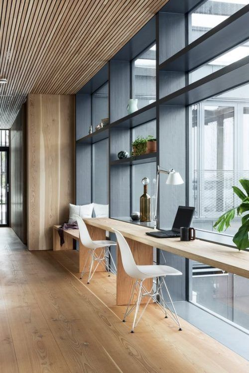 I M A Sucker For This Impressive Home Office Boho In 2020 Office