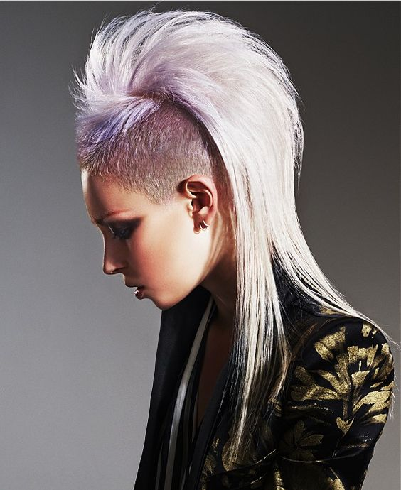 Marvelous Long Blonde Hairstyles Blonde Hairstyles And Mohawks On Pinterest Short Hairstyles For Black Women Fulllsitofus