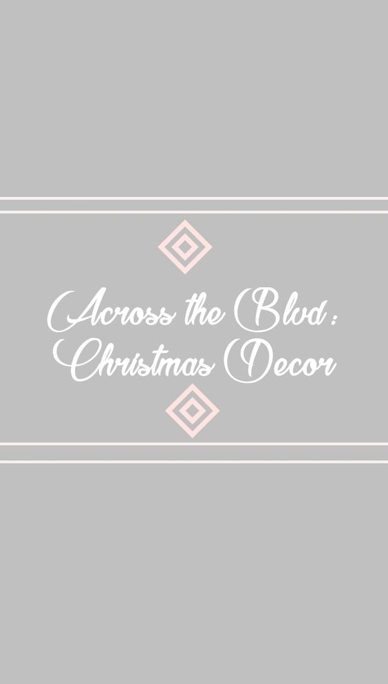 Click to visit Across the Boulevard's Christmas Decor and Crafts