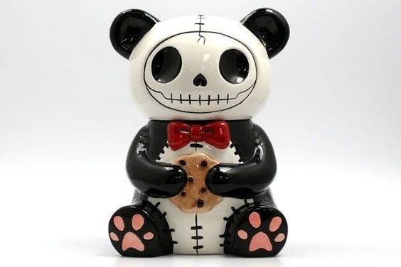 Furrybones Pandie Cookie Jar