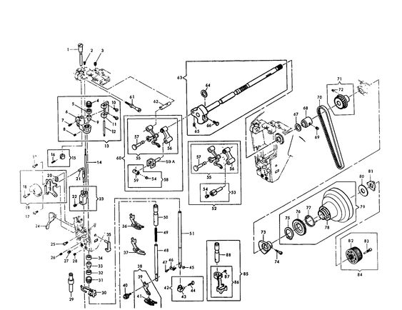 Singer Sewing Machine Parts Diagram : 35 Wiring Diagram
