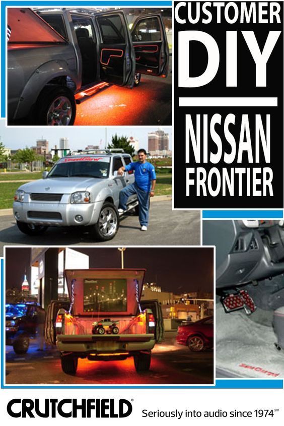 Frank's Nissan Frontier got a massive audio/video overhaul -- with gear from Crutchfield!