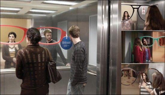 ação espelho/elevador