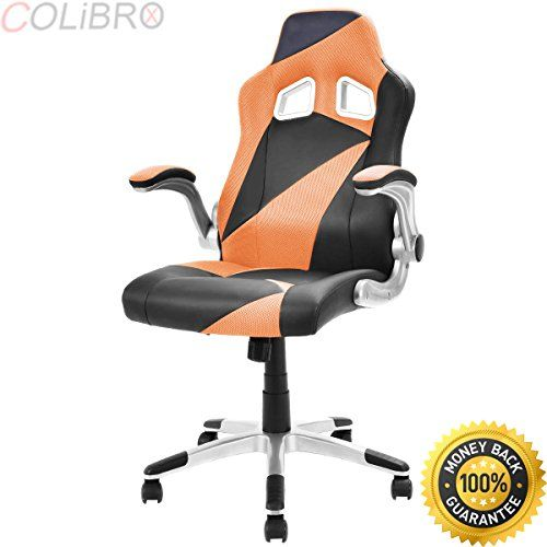 Colibrox Pu Leather Executive Racing Style Bucket Seat Office
