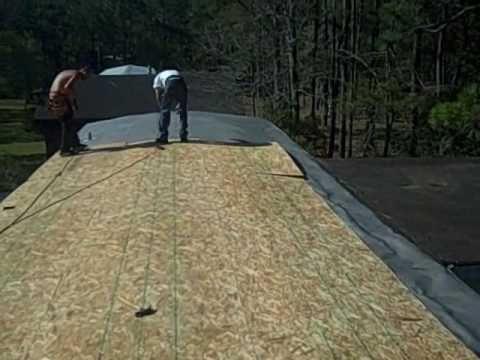Mobile Home Leak Mobile Home Repair Roof Leaks Youtube