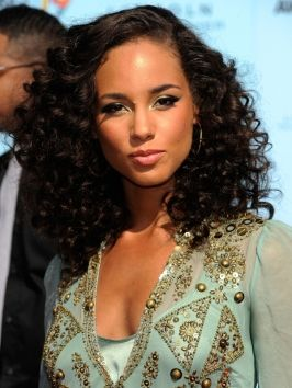 Phenomenal Natural Curly Hairstyles Alicia Keys And Curly Hairstyles On Hairstyles For Men Maxibearus