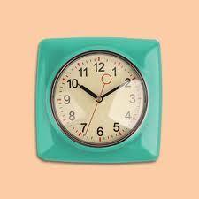50s kitchen clock