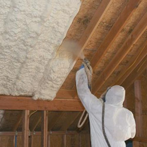 Rescuing A Problem Cathedral Ceiling Greenbuildingadvisor Cathedral Ceiling Roofing Spray Foam Roofing
