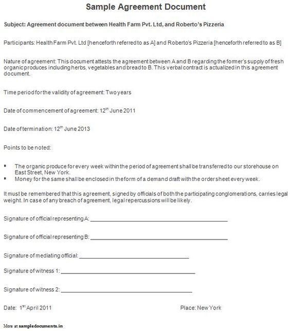 ... Sample Agreement Document Agreement Documents Pinterest   Partnership  Agreement Between Two Companies ...  Partnership Agreement Between Two Companies