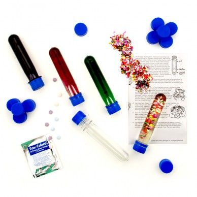 Baby Soda Bottle Test Tubes- use these for word work activities - 15 tubes for $12