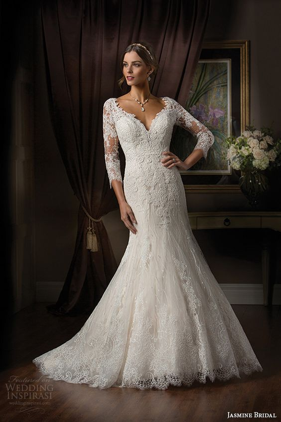Veja mais de 160 fotos dos mais lindos vestidos de noiva para o inverno 2015/2016 dos melhores costureiros da moda noivas
