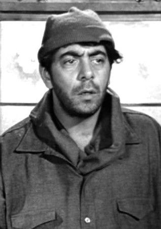 "Robert Strauss as 'Animal' in ""Stalag 17"""