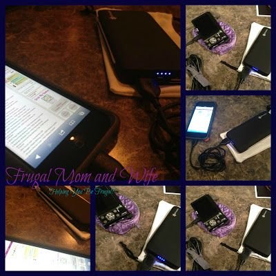 Frugal Mom and Wife: eFreesia Duo Portable Charger Review & Giveaway! ENTER NOW