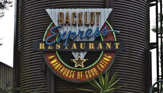 Hollywood Studio's Restaurants Backlot Express