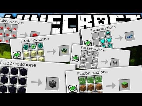 Come Craftare Ogni Cosa Anche La Bedrock Minecraft Ita Uncrafted Mod Review Minecraft Mods Minecraft