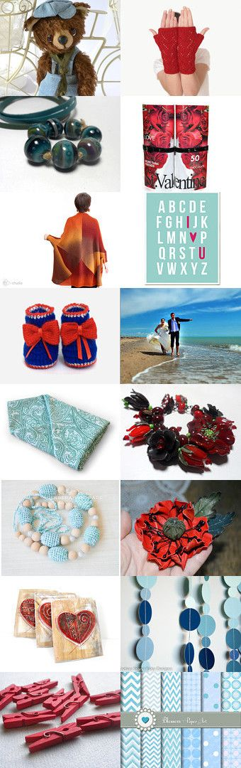 ♥♥♥ Sky Red ♥♥♥ by Marina on Etsy--Pinned with TreasuryPin.com