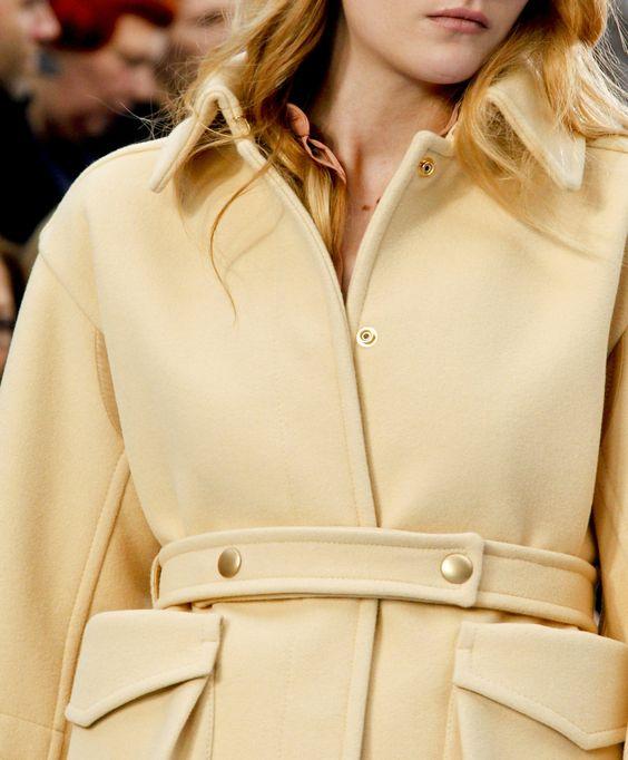 Pale Yellow Winter Coat <3<3