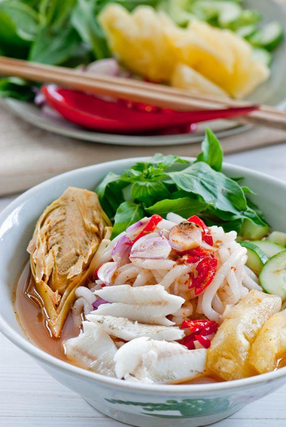 Laksa Asam (Penang - Malaysian recipe) | Asian Cuisine ...