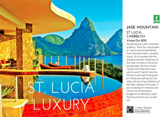 Jade Mountain, St. Lucia: http://triptease.com/1772