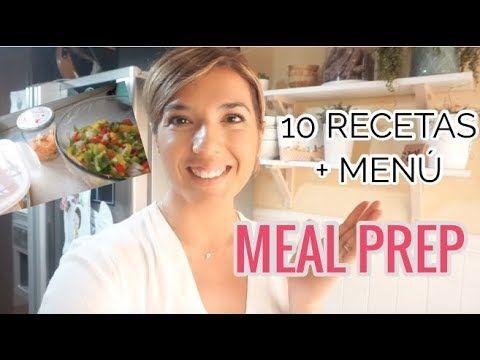 Cocina 3 Horas Para Toda La Semana 10 Recetas Con Y Sin Thermomix 6 Menu Saludable Familiar Youtube Menu Saludable Menu Recetas