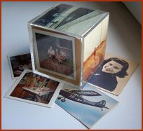 Photo blocks.  I loved these.  They were always full of dust and we could barely see the pics in them, but I still loved them