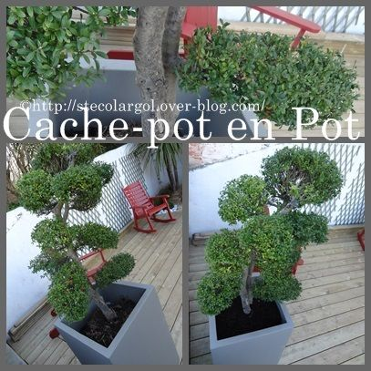 arborer une terrasse tuto diy pot xxl que cache ma boite belette. Black Bedroom Furniture Sets. Home Design Ideas