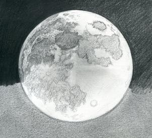 Pin By Alejandra On Dibujo Moon Drawing Moon Sketches Pencil Art Drawings